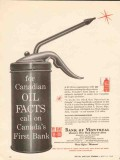 bank of montreal 1962 canadian oil facts 320 branches oiler vintage ad