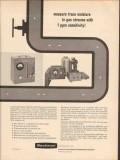 Beckman Instruments Inc 1962 Vintage Ad Gas Oil Measure Trace Moisture