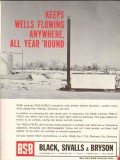 Black Sivalls Bryson Inc 1962 Vintage Ad Oil Well Flowing Free-O-Freez