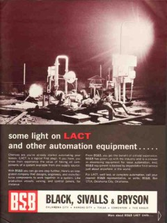Black Sivalls Bryson Inc 1930 Vintage Ad Oil LACT Automation Equipment