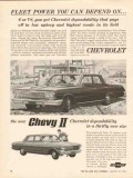 chevrolet 1962 fleet power you can depend on chevy ii car vintage ad