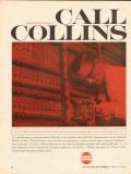 collins radio company 1962 mx-106 transistorized carrier vintage ad