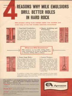 Atlas Chemical Industries 1962 Vintage Ad Reason Less Loss Circulation