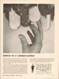 houdry process chemical company 1962 catalyst picker advice vintage ad