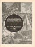Houston Contracting Company 1962 Vintage Ad Dixie LPG Line Lightweight