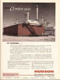 Hudson Engineering Corp 1962 Vintage Ad Cosden Petroleum Combin-Aire