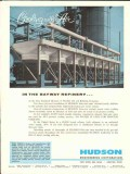 Hudson Engineering Corp 1962 Vintage Ad Bayway Refinery Esso Cooling