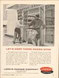 Larkin Packer Company 1962 Vintage Ad Oil Field Supply Industry Doors