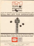 Magnet Cove Barium Corp 1962 Vintage Ad Oil Mud Straight Shooting 21
