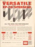 Magnet Cove Barium Corp 1962 Vintage Ad Mud XP-20 Spersene Versatile