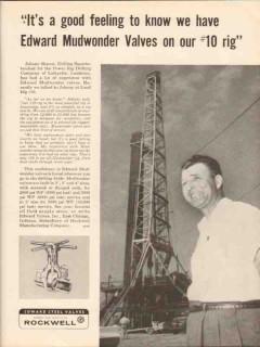 Power Rig Drilling Company 1962 Vintage Ad Johnny Sharon Lafayette LA