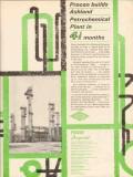 Procon Inc 1962 Vintage Ad Ashland Oil Refining Catlettsburg KY Plant