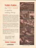 Chemetron Corp 1962 Vintage Ad Oil Tube Turn Pipeline Welding Fittings