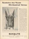 bakelite corp 1936 insulation mechanical stress electrical vintage ad