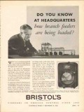 bristol company 1936 remote branch feeders loaded metameter vintage ad