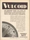 continental-diamond fibre company 1936 vulcoid electrical vintage ad