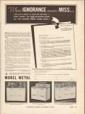 international nickel company 1936 ignorance monel metal vintage ad