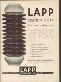 lapp insulator company 1936 station posts substations power vintage ad