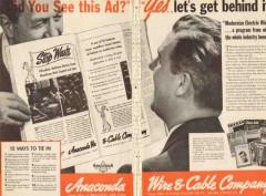 anaconda wire cable company 1936 modernize electric wiring vintage ad