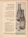 seven-up bottling company 1959 all-family drink medical vintage ad