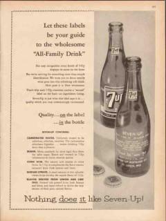 seven-up bottling company 1959 all-family drink medical vintage ad