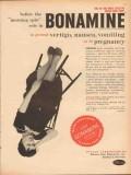 pfizer laboratories 1959 bonamine morning spin medical vintage ad