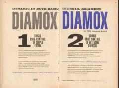 lederle laboratories 1959 diamox edema diuresis medical vintage ad