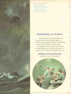 abbott laboratories 1959 reliability action melzoff medical vintage ad