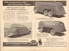 butler mfg company 1952 custom built oil tank trucks vintage ad