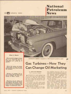 gas turbines how they can change oil marketing 1955 vintage article