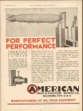 American Iron Machine Works 1931 Vintage Ad Automatic Cathead Zeppelin