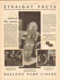 Axelson Mfg Company 1931 Vintage Ad Oil Field Behind Scenes Alloy