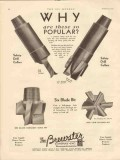 Brewster Company 1931 Vintage Ad Oil Safety Drill Collars Why Popular