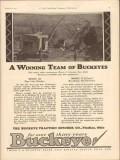 Buckeye Traction Ditcher Company 1931 Vintage Ad Henry L Lemons Inc