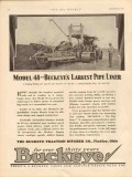Buckeye Traction Ditcher Company 1931 Vintage Ad Model 48 Pipe Liner