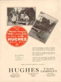 Hughes Tool Company 1931 Vintage Ad Oil Well Rock Bits Worlds Unique