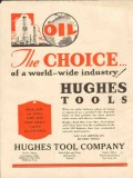 Hughes Tool Company 1931 Vintage Ad Oil World-Wide Industry Choice