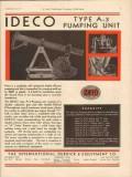 International Derrick Equipment Company 1931 Vintage Ad Pumping Unit