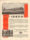 International Derrick Equipment Company 1931 Vintage Ad Oil Field