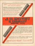 J H McEvoy Company 1931 Vintage Ad Oil Field Improved Strainer Profits