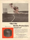 Patterson-Ballagh Corp 1931 Vintage Ad Oil Bettis Protectors Stayed On