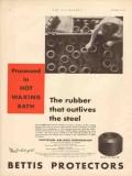 Patterson-Ballagh Corp 1931 Vintage Ad Oil Rubber Outlives Steel Bath