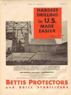 Patterson-Ballagh Corp 1931 Vintage Ad Oil Kettleman Hardest Drilling