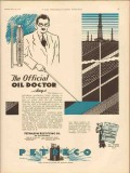 Petroleum Rectifying Company 1931 Vintage Ad Encroachment Infiltration