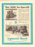 Ingersoll-Rand 1930 Vintage Ad Oil Compressor XVP XOG Gas-Lift Pumping