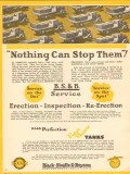 Black Sivalls Bryson Inc 1931 Vintage Ad Oil Tank Nothing Stop Them