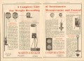 Martin-Decker Corp 1931 Vintage Ad Weight Record Measurement Control
