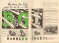 Barber-Greene Company 1931 Vintage Ad Ditcher Design Performance Dirt