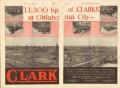 Clark Brothers Company 1931 Vintage Ad Oil Field Engines Oklahoma City