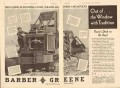 Barber-Greene Company 1931 Vintage Ad Inventing Fast Machines